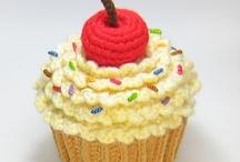 crochet cup cake