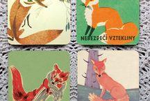 Art: Foxes