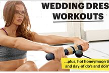 Getting into shape before your wedding day ...