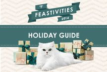 Feastivities 2014 / The ultimate way to wow cats and cat lovers during the holidays.
