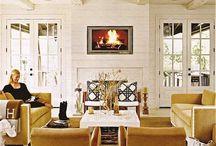 Living Room and Foyer Design - 805 Park Lane West / Living room and general home interior design ideas.