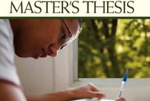 Writing a Master's Thesis / Research into books/market re: writing a thesis