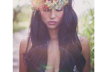 Maui Maka \\ HAKU INSPIRATION / HAKU // flower crown // floral headpieces