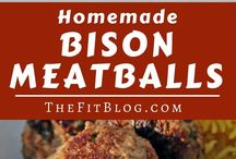 Bison Recipes