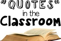 Quotes in the Classroom