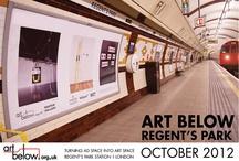 Art Below Regent's Park 2012