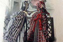 Mode en klederdracht  / Mina egna mode  och folkdräkt bilder