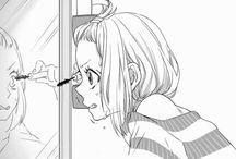 Manga drawing