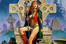 CALL ON CALDWELL / Art of Clyde Caldwell