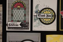 Painted Glass & Stained Glass framelits & Graceful Glass dsp
