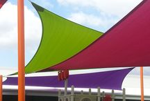 Shade Sails installed at Child Care Centres / Shade Sails Solutions, Installation & Repair for Child Care Centres Superior Shade Sails structures are made by industry tradesmen that are licensed with the QBCC.