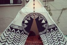Teepees, Tents & Forts / Everyone loves a special hide-out! Especially little ones.