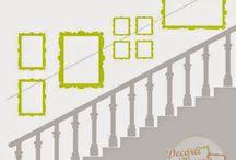 cuadros escalera