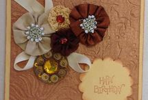 Womens Birthday Cards by Marcia / Handmade cards for women