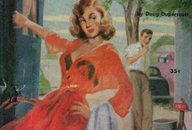 Pulp Fiction / Trashy novel covers from ages past