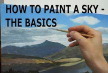 paint sky