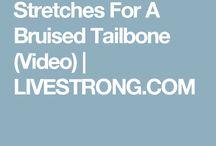 Tailbone exercises
