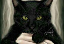 Gatos(as) Animal Mamífero / Seja Bem-Vindo