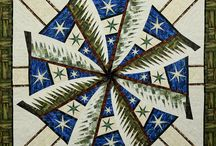 Weathered Windmill / For more information about the Storybook Pastures pattern, visit http://www.quiltworx.com/patterns/weathered-windmill/. To be taken directly back to this pattern page on Quiltworx.com, simply click on any of the images below.  / by Quiltworx Judy Niemeyer