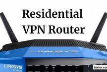 Residential VPN Router