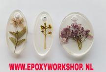 Epoxy sieraden