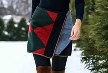 Sophie wrap skirt inspiration