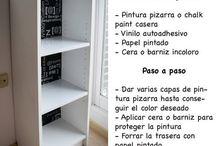 pintar muebles reciclados