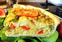 Vegan Pie, Quiche, Tart, Pizza etc.