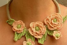 Crothet necklace