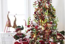 Tavola delle feste natalizie / tante idee decorare la casa