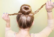 Morning 5 minute hairstyles