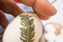 Τεχνική πασχαλινών αυγών