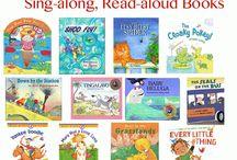 Sing along, Read aloud books!