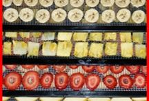 Dehydrating food / Directions and tips for dehydrating food.