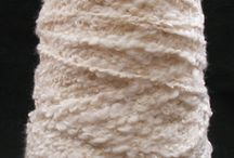 Rayon & Rayon Blends Undyed Yarns / CATNIP YARNS • First quality undyed rayon & rayon blends yarns - ready to be dyed or used in the natural color