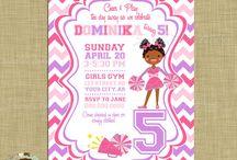 Kids invitations / Kids invitations i love