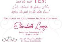 Wedding - Bridal Shower Ideas