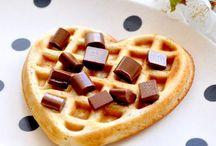 Vegane Kekse und waffeln