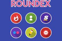 ROUNDEX - Icon Pack v1.2.5