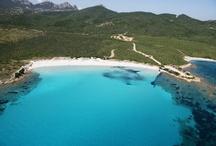 Bird's-eye view of Sardinia