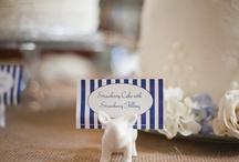 striped wedding!
