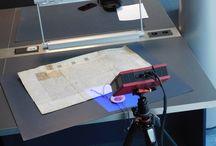 Digitalizace v Moravském zemském archivu / Digitalizace v Moravském zemském archivu s využitím 3D skeneru.