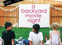 PARTY | Backyard movie night