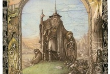 JRR Tolkien and Middle Earth