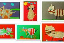 Wykonane przez Dzieciaki / prace plastyczne wykonane przez dzieci w wieku 3-6 lat