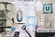 Art Journaling / Inspiring ideas for art journaling