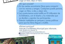 LABoratori 2016 makerspace en la biblioteca / Actividades realizadas en el makerspace de la biblioteca pública de Sant Joan d'Alacant Nuestra primera Little Free Library - Bibliocasita registrada Construcción de Bibliocasitas - Little Free Libraries- por los usuarios de la biblioteca