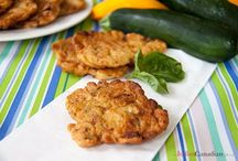 Zucchini fritters / Calabrese fritti