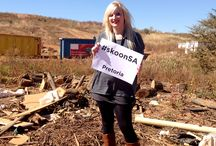 """#skoonSA / """"Inadequate waste management, the collapse of infrastructure, corruption, health and safety issues, global warming and pollution has necessitated our intervention in order to protect our natural environment,"""
