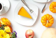 Thanksgiving Day Dessert Inspiration / Pin all the deliciously tasty Turkey Day desserts on our board and Lady M will donate $1 per pin to Feeding America through the month of November.